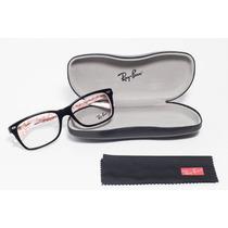 Óculos Ray-ban Original Acetato Rb5228 Preto - P/ Grau
