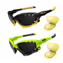 Oculos Preto Jawbone Livestrong 3 Lentes- Frete Grátis Sedex