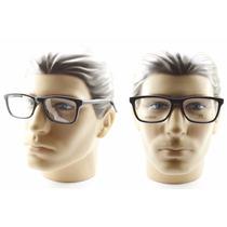 Armação Grande Quadrada Acetato Para Óculos De Grau - 72113