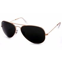 Óculos Ray Ban De Sol Estilo Aviador Clássico Frete Grátis