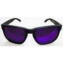 Oculos Holbrook Black Julian Wilson Lente Espelhada Violeta