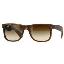 Óculos De Sol Ray Ban Tartaruga E Lentes Marrom Unissex