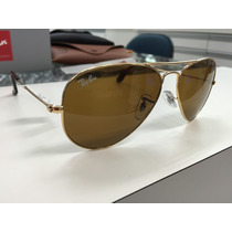 Oculos Ray Ban Rb3025 Aviator Large Metal 001/33 58 Original