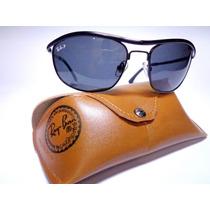 Óculos De Sol Rb Demolidor De Metal Lente Fume Cristal