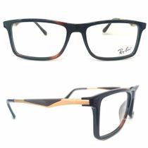 Ray Ban Armação Óculos Grau 8910 Masculino Feminino