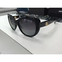 Oculos Doce & Gabbana Polarizado Dg6090 501/73 Made Italy