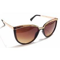 Óculos Retrô Estilo Gatinha Com Proteção Uv400 Várias Cores