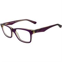 Armação De Óculos De Grau Feminino Vogue Acetato Vermelho