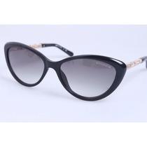 Óculos De Sol Chanel Cat Eye Modelo Vintage- Novo
