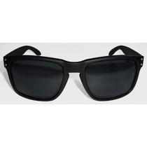 Oculos Holbrook Black Fosco Lente Black Polarizada Uv/uva