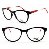 Armação Óculos Acetato Redondo Para Grau - 104