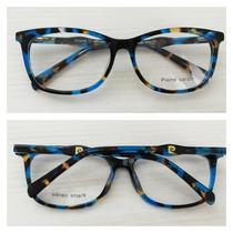 Armação Óculos De Grau Acetato Feminino Pierre Cd 8406