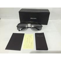 Óculos De Sol Masculino - Prada Original Com Nota De Compra.