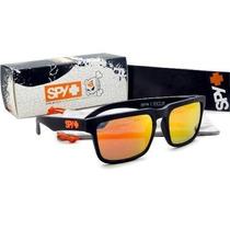 Óculos Spy + Ken Block Helm 43 Model Orange W/ Red Spectra