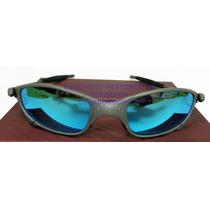 Oculos Juliete Xmetal Lente Ice Thug Polarizada Uv/uva 400
