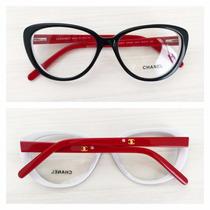 Armação Óculos De Grau Acetato Chanel