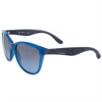 Óculos De Sol Feminino Vogue Azul