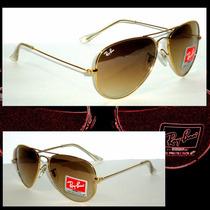 Óculos Aviador Ray Ban Unissex Rb3026 Rb3025