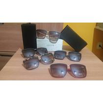 Kit 5 Óculos De Sol Gucci Quadrado Diversas Cores Atacado