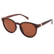 Óculos De Sol Gatinho Madeira Polarizado - Frete Grátis