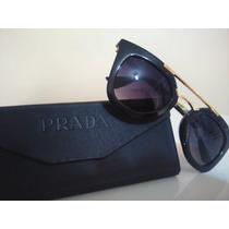 Óculos De Sol Preto + Case + Flanela