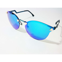 Oculos De Sol Espelhado Azul