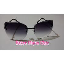 Óculos De Sol Fem Gucci Com Proteção Uv 400 + Brinde !!