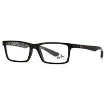 Armação De Óculos De Grau Ray-ban Masculino Fibra Carbono