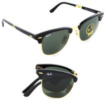 Oculo De Sol Rayban Rb2176 3016 Clubmaster Folding Dobrável