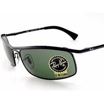 Oculos Demolidor Rb8012 Lente Verde G15 ( Caçador Aviador )