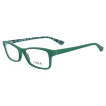 Armação De Óculos De Grau Feminino Vogue Acetato Verde