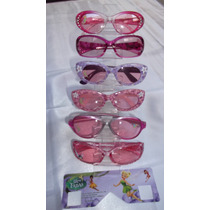 Óculos De Sol Infantil Menina, Disney Fadas Acompanha Estojo