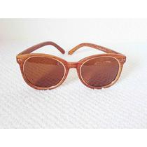 Oculos De Sol Feminino Estilo Madeira