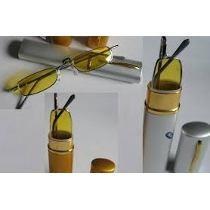 Óculos Night Drive Mini Dirigir Estojo Caneta Frete Grátis