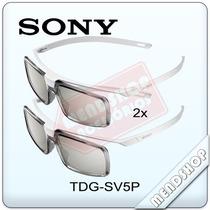 Óculos 3d Simulview Sony Tdg-sv5p Tvs Linha R555, W805, X905