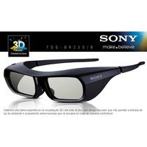 Óculos 3d Ativo Sony Original Tdg-br250 Frete Grátis(4un)