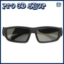Óculos 3d Passiva Polarizada Para Tv Lg Philips Passive 3d