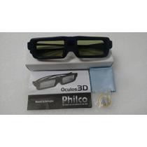 Óculos 3d Ativo Tv Plasma Philco Original/novo Frete Grátis
