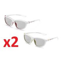 2 X Óculos 3d Games Dual Play Lg Cx C/ 2 Ag-f400dp Original