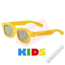 Óculos 3d Infantil Polarizado Passivo P/ Tvs Lg Philips Sony