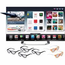 Tv Led Lg 47¨ 3d - Wi-fi - Usb - 4 Oculos 3d E 2 Dual Play