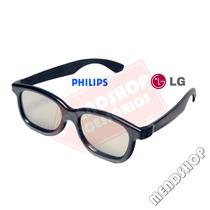 Óculos 3d Real D P/ Cinema E Tvs Philips E Lg Passivas
