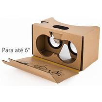Google Cardboard, Óculos De Realidade Virtual - Frete Gratis