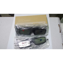 Kit 2 Óculos 3d Ativo Samsung Ssg 5100gb Original Novo