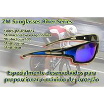 Óculos Masculino Esportivo Polarizado - Zm Sunglasses Biker