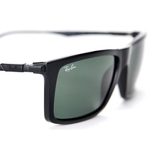Óculos De Sol Ray Ban Preto Grafite Lentes Esverdeada