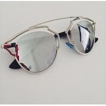 Oculos So Real Prata Espelhado Promoção Frete Gratis