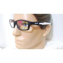 Armação Oculos De Grau Crosslink Preto E Branco Frete Gratis
