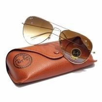 Óculos Aviador Ray Ban Masculino Rb3025 Rb3026 Cristal