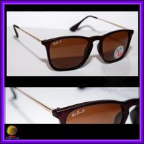 Óculos 4187 Chris Marrom Fosco Lentes Marrons Polarizadas